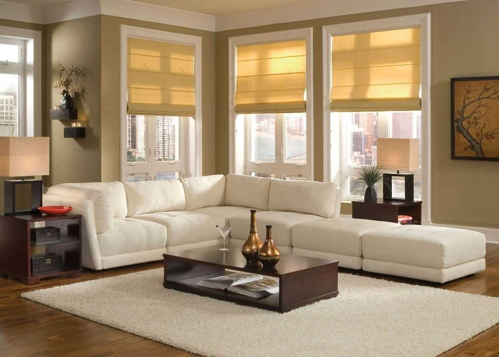 Sectional Sofas Decorating In Well Known Decorating Living Room With Sectional Sofa Wi  (View 6 of 10)