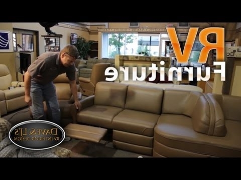 Sectional Sofas For Campers With Best And Newest Rv Furniture – Recliners Chairs Sofas Sleepers – Youtube (View 10 of 10)