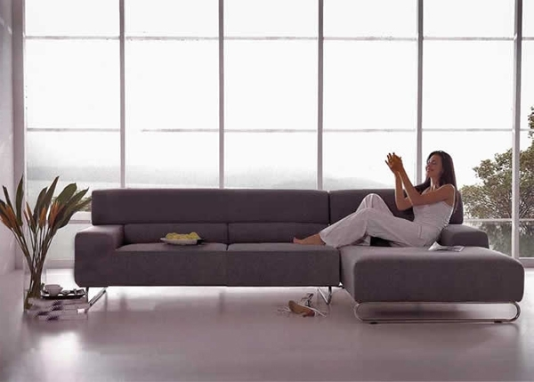 Sectional Sofas For Small Places With Newest Sectional Sofa: Sectional Sofas In Small Spaces Sectionals For (View 7 of 10)