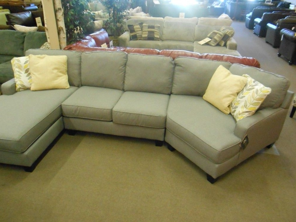 Sectional Sofas In Famous Sectional Sofas With Cuddler Chaise (View 13 of 15)