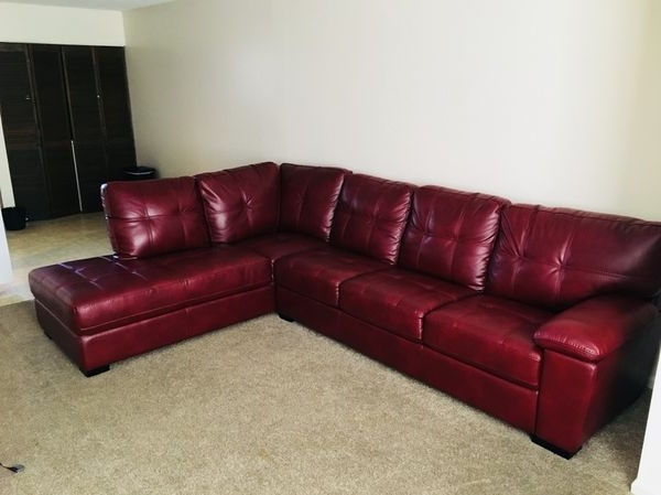 Sectional Sofas In Savannah Ga Throughout Favorite Red Leather Sectional (Furniture) In Savannah, Ga (View 9 of 10)