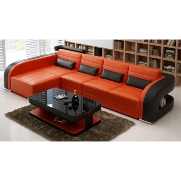 Sectional Sofas: Syncro Leather Sectional Sofa (View 6 of 10)