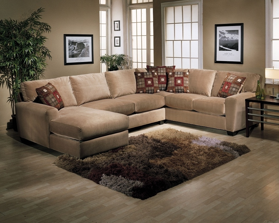 Sectional Sofas Under 900 Throughout Most Recently Released The Advantages U Shaped Sectional Sofa The Decoras Jchansdesigns U (View 9 of 10)