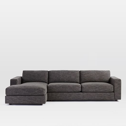 Sectional Sofas With 2 Chaises Inside Widely Used Urban 2 Piece Chaise Sectional (View 7 of 10)