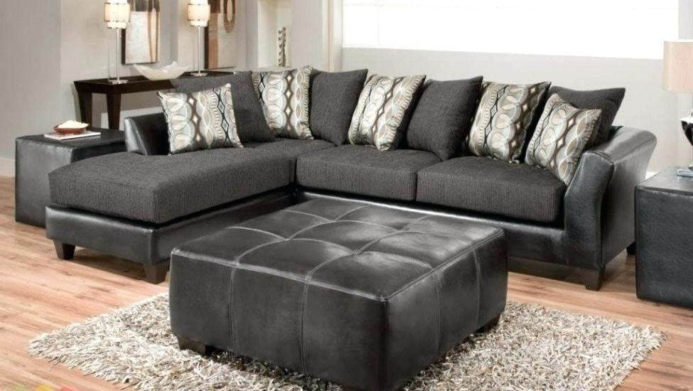 Sectional Sofas With Chaise Lounge Pertaining To Most Recently Released Charcoal Gray Sectional Sofa With Chaise Lounge – Colbycolby (View 14 of 15)