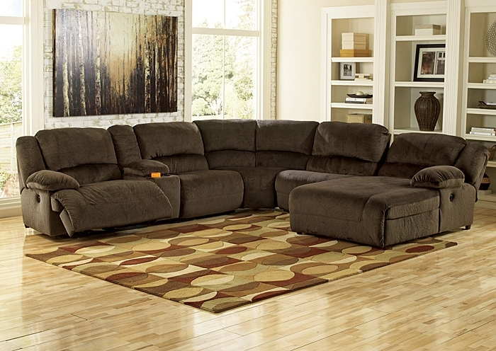 Sectional Sofas With Consoles For Recent R.a (View 6 of 10)