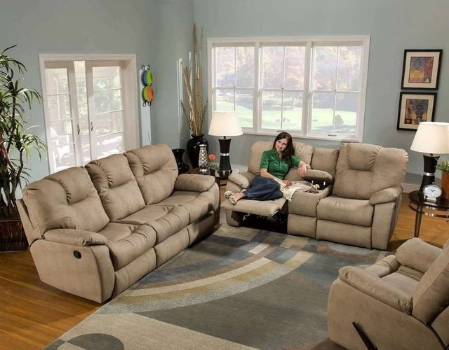 Sectional Sofas With Consoles With 2018 Sectional Sofa Design: Comfortable Reclining Sectional Sleeper (View 9 of 10)