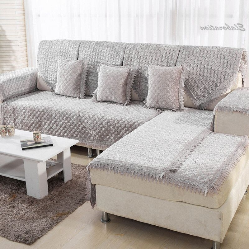 Sectional Sofas With Covers Pertaining To Current Sofa Beds Design: Excellent Modern Sectional Sofa Slipcovers Cheap (View 6 of 10)