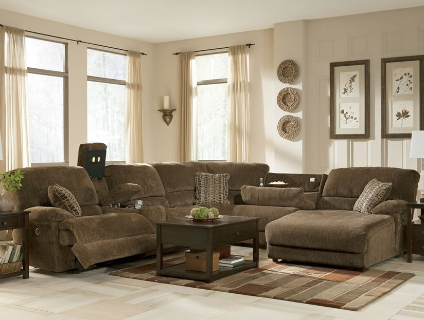 Sectional Sofas With Recliners And Chaise In Well Known Furniture : Sectional Couches With Recliners And Chaise Decorative (View 8 of 15)