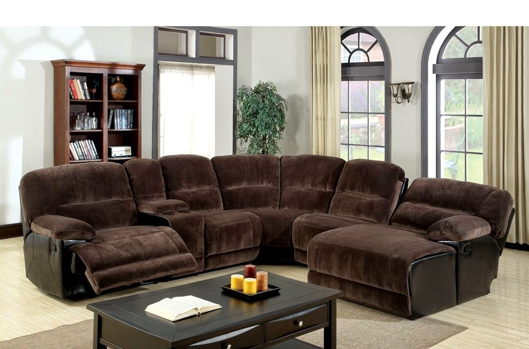Sectional Sofas With Recliners And Chaise Inside Most Recently Released Sofa Recliner Reviews: Microfiber Recliner Sectional Sofa Couch Chaise (View 11 of 15)