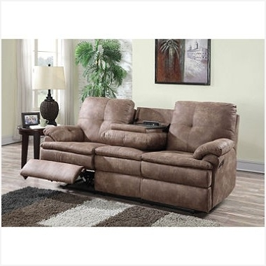Sectional Sofas With Recliners And Cup Holders » Get Buck Faux Pertaining To Most Up To Date Sectional Sofas At Sam's Club (View 4 of 10)
