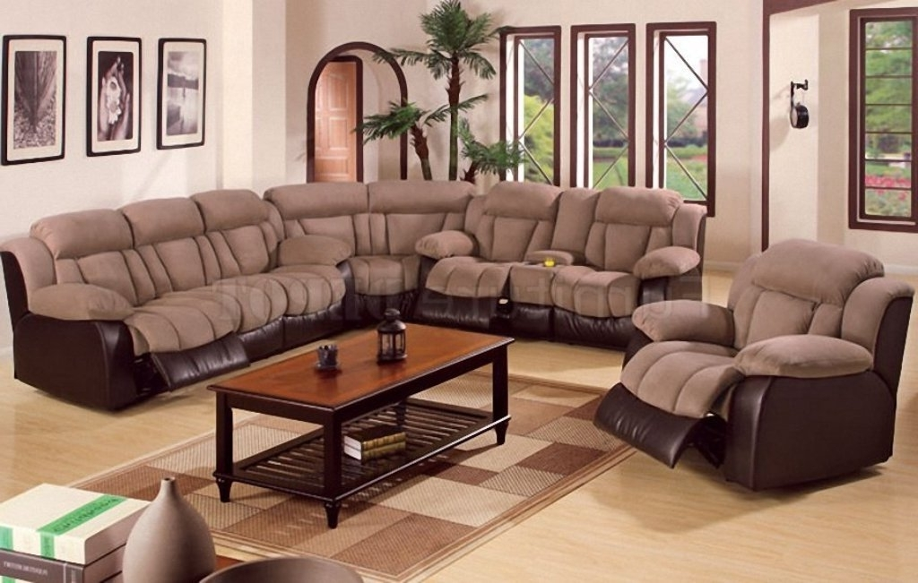 Sectional Sofas With Recliners Rice Lake Wi — Fabrizio Design Pertaining To Preferred Eau Claire Wi Sectional Sofas (Gallery 7 of 10)