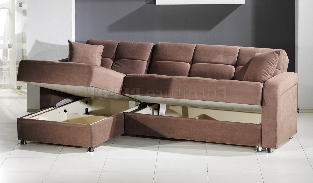 Featured Photo of Sectional Sofas With Storage