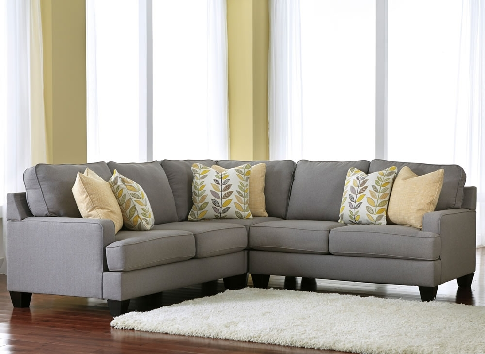 Sectionals Jennifer Furniture Inside Grey Sofa With Chaise Ideas 5 For Recent Grey Sofa Chairs (View 9 of 10)