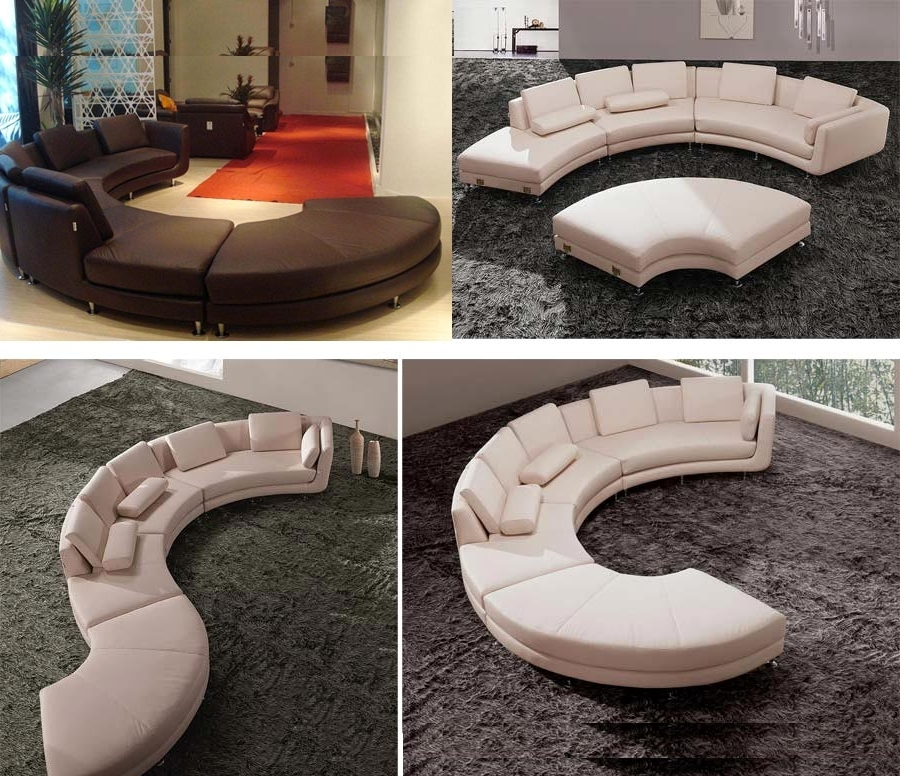 Sectionals With Best And Newest Round Sofas (View 8 of 10)
