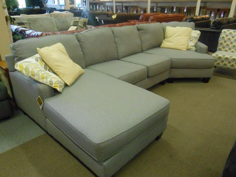Sectionals With Cuddler And Chaise Pertaining To Well Known Buttercup 3 Piece Sectional With Chaise And Cuddler Sectional With (View 9 of 15)
