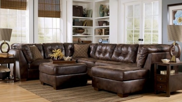 Sectionals With Oversized Ottoman For 2018 Wonderful Oversized Sectionals Beautifull Furniture Raegan Green (View 5 of 10)