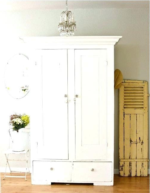 Shabby Chic Wardrobes For Sale In 2018 Armoire ~ White Armoire For Sale Wardrobe Stunning Closet Shabby (View 13 of 15)