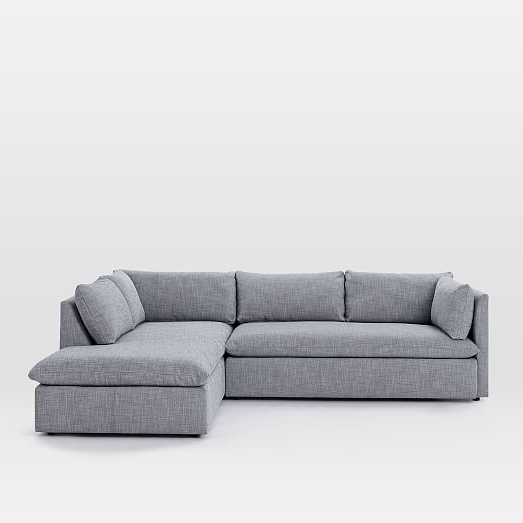 Shelter 2 Piece Terminal Chaise Sectional (View 10 of 15)