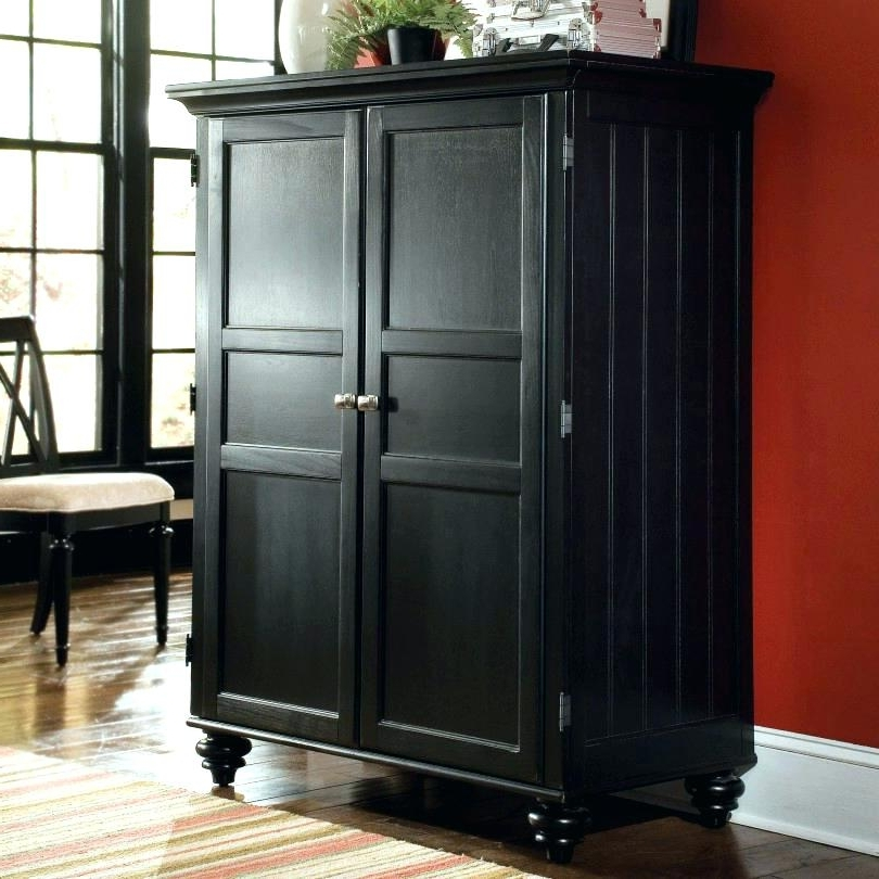 Short Wardrobes Pertaining To Widely Used Short Dresser For Closet Medium Size Of Bedroom White Closet (View 13 of 15)