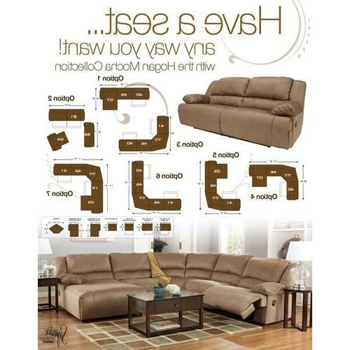 Signature Designashley Hogan – Mocha 6 Piece Sectional Sofa Intended For Trendy Jackson Tn Sectional Sofas (View 7 of 10)
