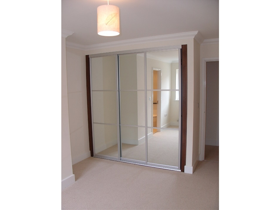 Silver Wardrobes Intended For Well Liked Matt Silver Sliding Wardrobes (View 11 of 15)