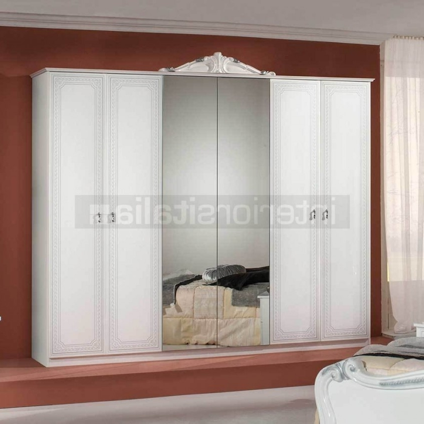 Silver Wardrobes Pertaining To Latest Classic Italian Wardrobes (View 12 of 15)