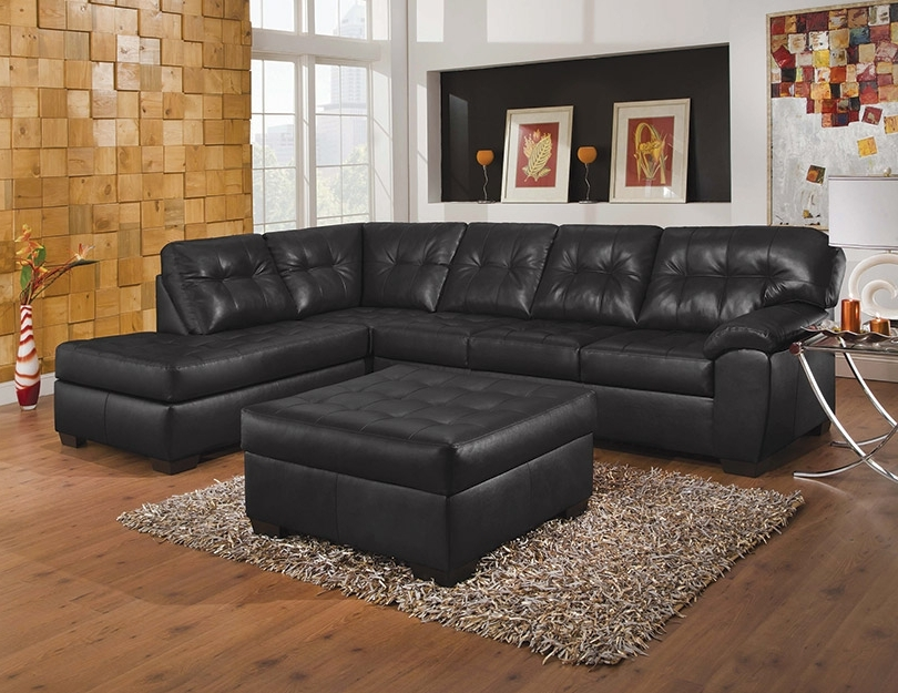 Simmons Chaise Sofas Regarding Well Known Simmons Upholstery Showtime Shi Soho Black Onyx Sectional Sofa (View 7 of 10)