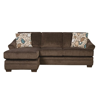 Simmons® Sunflower Brown Sofa With Reversible Chaise At Big Lots Intended For 2018 Simmons Chaise Sofas (View 9 of 10)