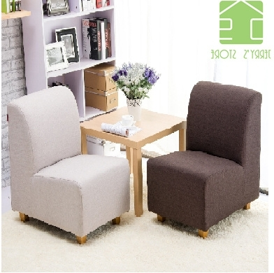 Single Sofa Chairs In Well Liked Qoo10 – Single Sofa : Furniture & Deco (View 8 of 10)