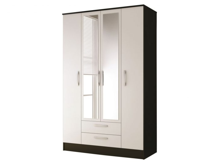 Single White Wardrobes With Mirror Pertaining To Well Known Ikea White Wardrobe With Mirror Door Drawers And Single Can Make (View 11 of 15)