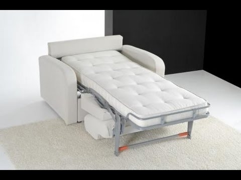 Sleeper Chair : Sleeper Chair Folding Foam Bed (View 7 of 10)