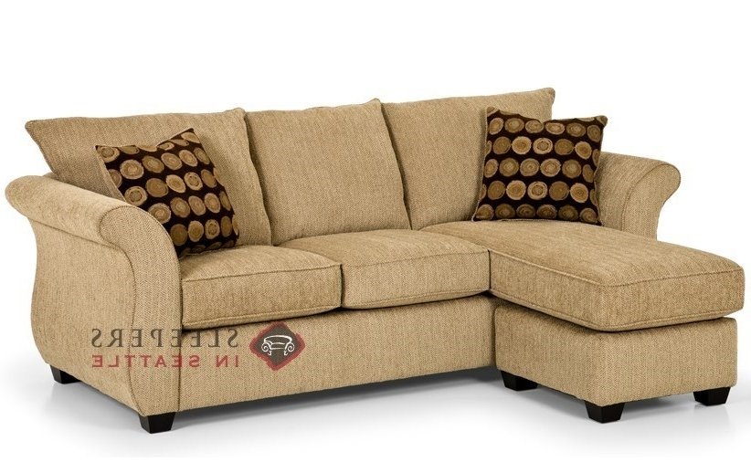 Sleeper Chaises Pertaining To Newest Cool Sectional Sofa Sleepers Leather Chaise Sofa Sleeper (View 8 of 15)