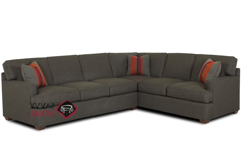 Sleeper Sectional Sofas With Regard To Latest Lincoln Fabric True Sectionalsavvy Is Fully Customizable (View 5 of 10)