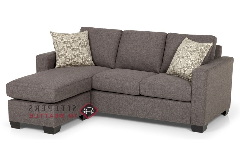 Sleeper Sofas With Chaise Inside Fashionable Customize And Personalize 702 Chaise Sectional Fabric Sofa (View 2 of 15)
