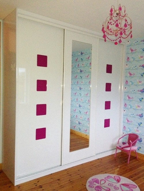 Slideglide – Sliding In Most Current Pink High Gloss Wardrobes (View 15 of 15)