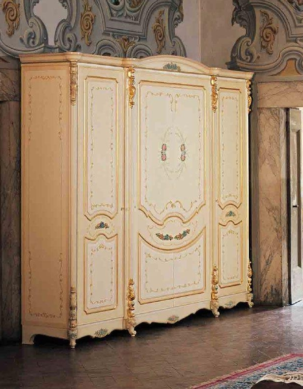 Sliding Wardrobe Superdoors In Popular Baroque Wardrobes (View 12 of 15)