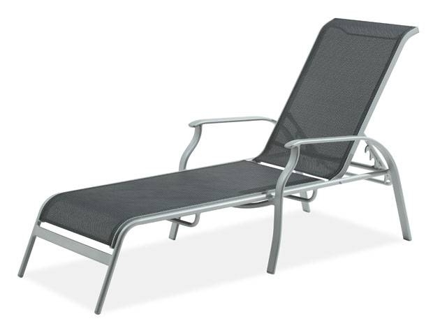 Sling Chaise Lounge Chairs For Outdoor Within Widely Used Outdoor Chaise Lounge Chairs Patio Furniture Fortunoff Sling (View 3 of 15)