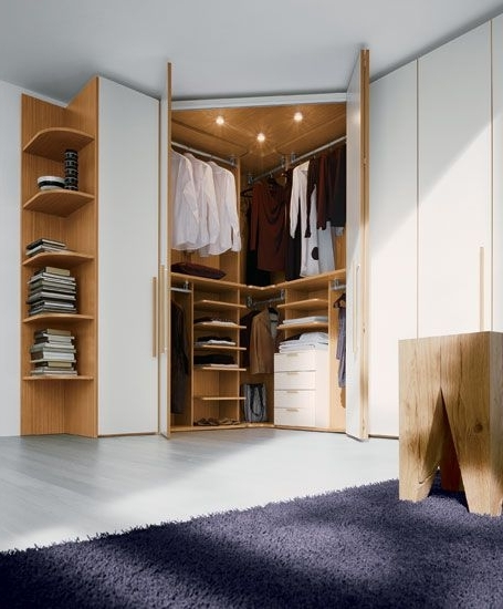 Small Apartments Throughout Newest White Corner Wardrobes Units (View 13 of 15)