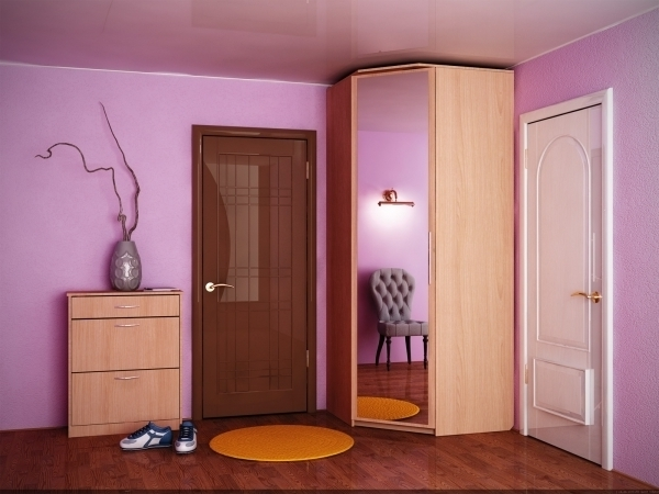 Small Corner Wardrobes In Most Up To Date Stylish Modern Corner Wardrobe Keeping Every Spot In Bedroom (View 11 of 15)