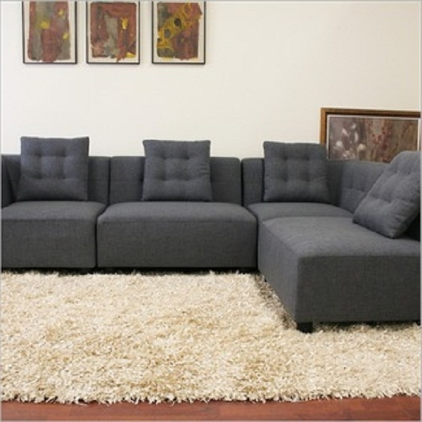 Featured Photo of Small Modular Sectional Sofas