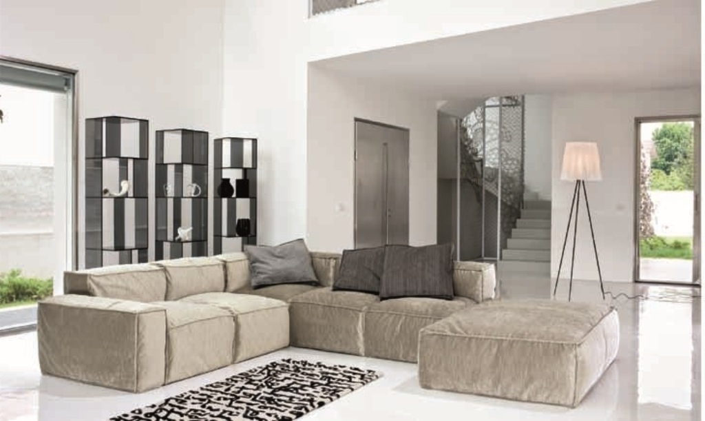 Small Modular Sectional Sofas With Most Recently Released Modular Sectional Sofa For Small Spaces — Fabrizio Design (View 6 of 10)