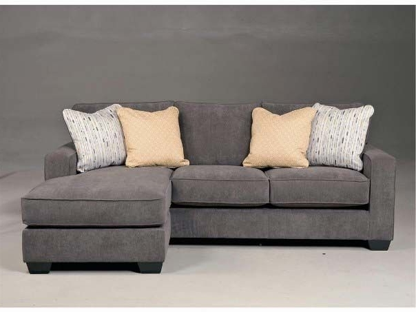 Small Sectional Sofas With Chaise With Regard To Favorite Ashley Furniture Gray Sectional Sofas For Small Spaces … (View 14 of 15)