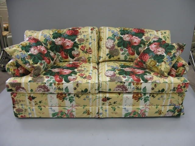 Small Sofa In Chintz Fabric – Google Search (View 10 of 10)