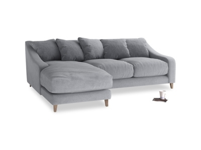 Small Sofas With Chaise Pertaining To Well Known Buy A Small Corner Sofa To Get A Bigger Look Of The Room (View 13 of 15)