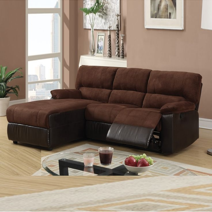Small Sofas With Chaise Regarding Preferred Sofa With Chaise And Recliner Living Room (View 11 of 15)