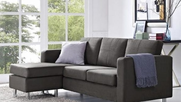 Small Space Sectional Sofa (View 9 of 10)