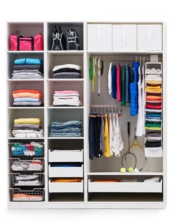 Smart, Affordable Storage At Ikea Intended For Most Recently Released Bedroom Wardrobes Storages (View 14 of 15)