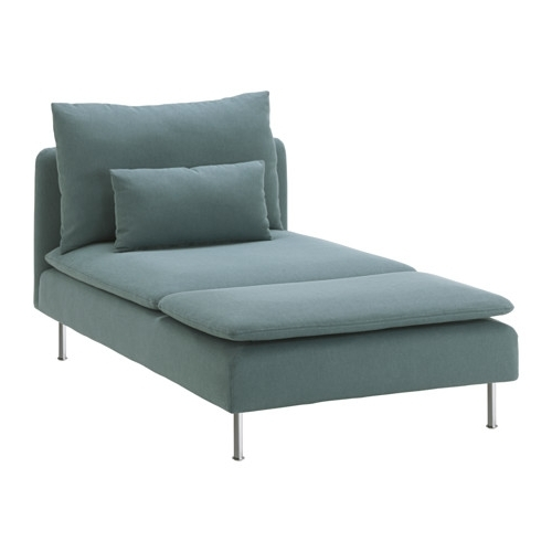 Söderhamn Chaise Longue – Finnsta Turquoise – Ikea For Most Recently Released Ikea Chaise Longues (View 13 of 15)