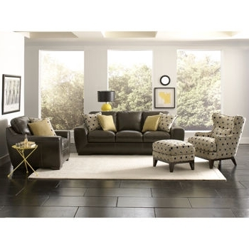 Sofa And Accent Chair Sets Inside Favorite Elegant Leather Sofa And Chair Sets  Costco Living Room